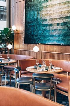 Situated in London's recently redeveloped St. James's Market neighbourhood, Aquavit is a 142 cover Nordic restaurant showcasing the very best of Nordic cuisine and design. Inspired by Gunnar Asplund's architectural design of Gothenburg City Hall in Sweden, Aquavit showcases an expansive dining space flooded with natural light and a simple aesthetic which perfectly reflects Scandinavia. A curved parameter in rose gold mirror and timber panelling frames two private dining rooms located on a…