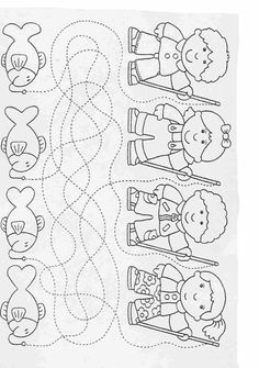Elementary School worksheets Complete the drawings for kids 37 Preschool Worksheets, Preschool Learning, Preschool Activities, Printable Worksheets, Ocean Lesson Plans, Maze Worksheet, Art Drawings For Kids, Pre Writing, Kids Education