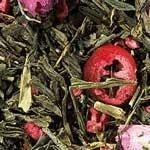 Sencha Cranberry-Rose  An elegant and delicate tea with the tart flavor of cranberries, the sweetness of raspberries and floral notes of rose. Perfect for a Thanksgiving feast digestive or a ladies afternoon tea.  Ingredients: green tea, pink rose petals, freeze-dried raspberry pieces, natural flavoring, freeze-dried cranberry pieces