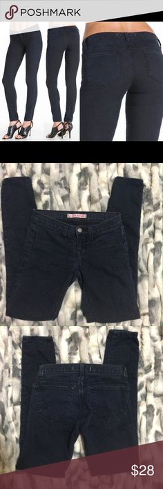"""J Brand Leggings """"Pitch"""" J Brand Style 915I530 """"Pitch"""" Size 24 Inseam 28""""....excellent condition! J Brand Jeans Skinny"""