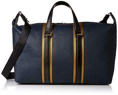 HUGO Hugo Boss Men's Future Holdall Weekender Bag, Dark Blue