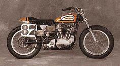 harley racers | 1972 harley davidson xr750 mark brelsford s racer