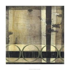 Limited Edition: Full Circle II by Jennifer Goldberger : 24x24in