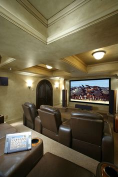 Home Movie Theater Ideas Design Ideas, Pictures, Remodel, and ...