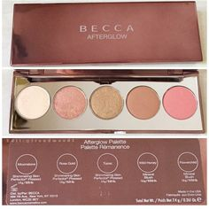 BECCA AFTERGLOW PALETTE HOLIDAY 2015 at Ulta for $39.50. Makeup Set: (3)Shimmering Perfector & (2)Mineral Blush