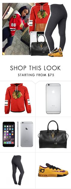 """""""savage"""" by queen-tiller ❤ liked on Polyvore featuring Yves Saint Laurent and NIKE"""
