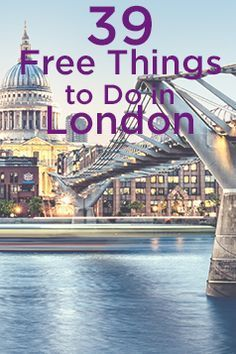 It's one of the world's most expensive cities, but some of the best things in London don't cost a thing. Rachel Beard has the inside track on how to see the Big Smoke for free. Places To Travel, Places To See, Travel Destinations, Holiday Destinations, Inverness, Things To Do In London, England And Scotland, London Calling, London Travel