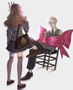 Harry Potter Couples, Harry Potter Ships, Harry James Potter, Harry Potter Anime, Harry Potter Pictures, Harry Potter Fan Art, Harry Potter Characters, Harry Potter Memes, Hermione Fan Art
