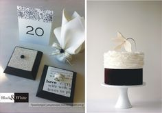 black&white | wedding ideas | wedding favors www.bemyguest.com.gr