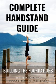 Learn to find the shape and optimal alignment for the straight handstand. Try out exercises to build the muscle memory to find a good handstand alignment. Yoga Inversions, Yoga Handstand, Ashtanga Yoga, Vinyasa Yoga, Yoga Sequences, Handstands, Iyengar Yoga, Handstand Training, Pilates Reformer Exercises