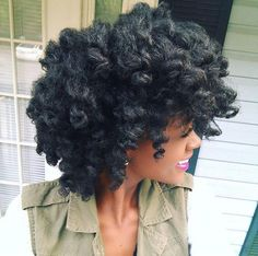 chunky twist out                                                                                                                                                                                 More