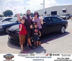 https://flic.kr/p/x4am8a | #HappyAnniversary to Julie and your 2014 #Dodge #Charger from Mark Gill at Huffines Chrysler Jeep Dodge Ram Lewisville! | www.deliverymaxx.com/DealerReviews.aspx?DealerCode=XMLJ