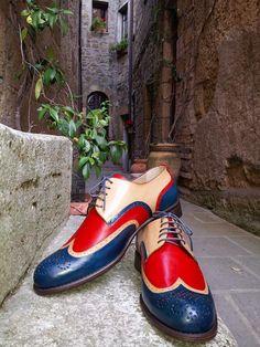 Black Hi Detailed Buckled Smart Party Wedding Slip on Dress Shoes UK Sizes Mens Real Leather Cream