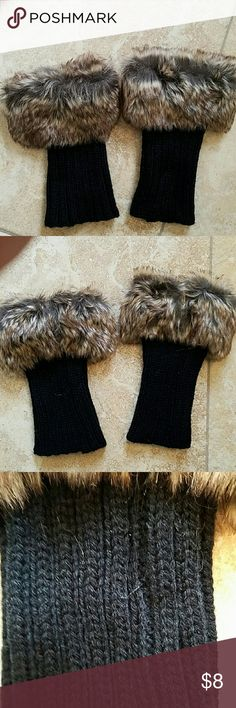 8a1554ba77d 12 Best shoes and boots cuffs images in 2017 | Boot cuffs, Faux fur ...