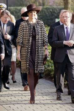 Queen Maxima visited  health care center Avoord Zorg during the national week of Health and Welfare in Etten-Leur