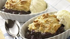 Try a fruity dessert you can enjoy warm from the oven - it's ready in just 30 minutes!