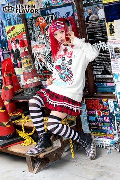 お憧れのモデル2人目。紅林大空ちゃんです。髪色とこの子のファッション好きです。