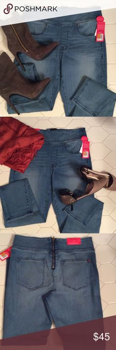 Spanx Ankle Skinny jeans Spanx Signature Ankle Skinny Jeans are a girls must wear. Functioning stylish zipper in the back. Wear with a heel ankle boot or great with flats. Size 29  $45   🔶 Please ask all your questions before you purchase. I'm happy😊 to help  🔶 Sorry, no trades or hold. 🔶 Please, no lowball offers. 🔶 Please use the Offer Button 🔶 Bundle for your best prices 🔶 Ships next day, if possible 🎀 Thank you for visiting my closet 🎀 SPANX Jeans