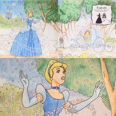 前から買ってたディズニーぬりえはじめました。 もっとドレスを塗り込みたいけど、魔法がジャマ しかしこのぬりえ、細かいわりに塗る面積広い #ディズニーガールズカラーリングブック #塗り絵 #大人の塗り絵 #コロリアージュ #ディズニーガールズ