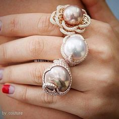 repost from @by_couture Rings by @yoko_london