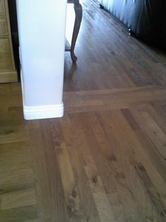 go in two different directions   laminate flooring two rooms meet     Great Methods to Use for Refinishing Hardwood Floors  Hardwood floor  refinishingInstalling hardwood floorsWood