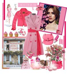 """I wear PINK ..."" by firstclass1 ❤ liked on Polyvore"