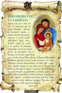 Immagine correlata Catholic Memes, Catholic Prayers, Italian Quotes, Spiritual Inspiration, Faith, Baseball Cards, Santa Maria, Madonna, Christmas