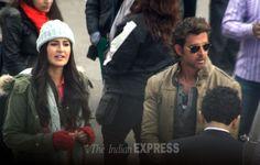 Katrina Kaif, Hrithik Roshan get busy with 'Bang Bang'.
