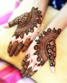 Henna Hand Designs, Dulhan Mehndi Designs, Mehandi Designs, Mehndi Designs Finger, Floral Henna Designs, Latest Henna Designs, Henna Tattoo Designs Simple, Mehndi Designs Book, Mehndi Designs For Girls