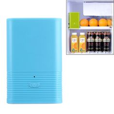 [$10.60] N327 Mini Portable Ozone Sterilizer for Fridge / Closet / Bag(Blue)