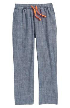 Main Image - Mini Boden Summer Pull-On Pants (Toddler Boys, Little Boys & Big Boys)