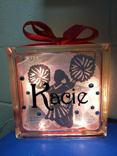Cheerleader GemLight. $25.00, via Etsy.