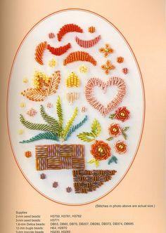 Master collection Yukiko Ogura 04 - Bead Embroidery