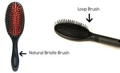 Different brushes for hair extensions.  Which do you use?
