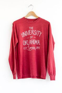 OU Fender Comfort Color Tee – LivyLu apparel - A customer favorite and great for game day!