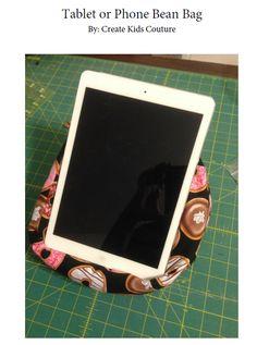 Tablet or Phone Bean Bag