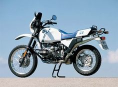 BMW R 100 GS:  Had one just like this one. Loved it. Put the PD kit on it. Red and white...then strangely, I traded it for a Ducati Paso. WHAT WAS I THINKING?