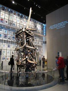 9/11 Memorial section at Washington, DC's Newseum