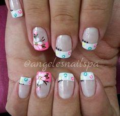 Simple Designs, Nail Designs, Nails, Beauty, Cool, Templates, Classy Nails, Polish Nails, Summer Nail Art