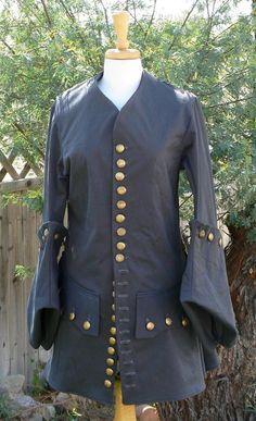 Amy Pond pirate coat