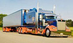 Show Trucks, Big Rig Trucks, Custom Big Rigs, Custom Trucks, Trailers, Kenworth Trucks, Peterbilt 379, Classic Tractor, Heavy Truck