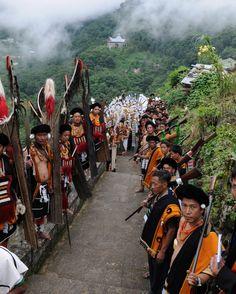 Khonoma, Nagaland, India.