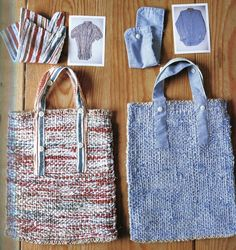 Japanese Craft Book - Eco Crafts - Woven Zakka Items Using old clothing - OUT OF PRINT. $19.95, via Etsy.