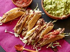 Get this all-star, easy-to-follow Mexican Pot Roast Tacos recipe from Tyler Florence