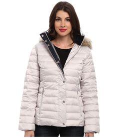 Unusual Plus Size Winter Coats : Plus Size Hooded Faux Fur Trim ...