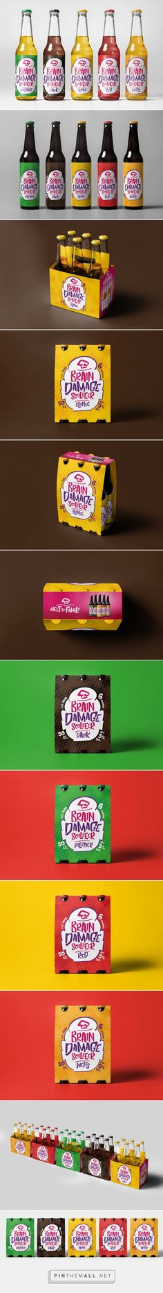 Brain Damage   SoulBeer (Concept) - Packaging of the World - Creative Package Design Gallery - http://www.packagingoftheworld.com/2016/10/brain-damage-soulbeer-concept.html
