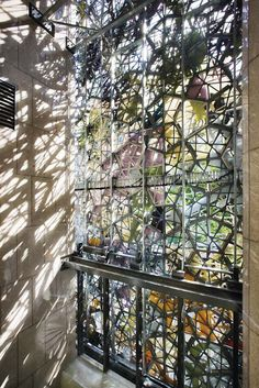 Steel stencils for light: Wintergarden façade, Brisbane, Australia by Studio 505
