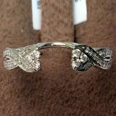 White Gold Solitaire Wrap Ring Enhancer (0.25ct. tw)- RG331261348870