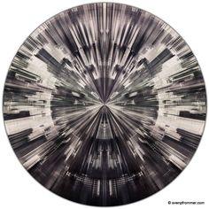 "Saatchi Art Artist Sven Pfrommer; Photography, ""BANGKOK FRAGMENTS I (Ø 100 cm)"" #art"