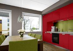 Die 38 Besten Bilder Von Farbgestaltung Kuche Lunch Room Dining